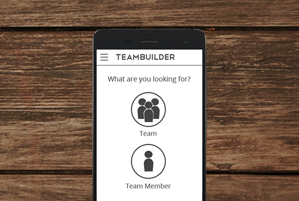 TeamBuilder Mobile App